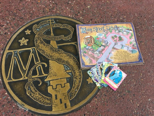 Sorcerers of Magic Kingdom Map and Cards