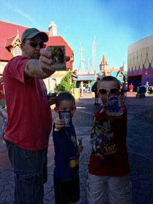 Family Fun with Sorcerers of Magic Kingdom