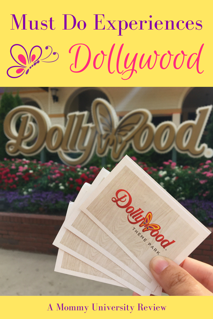 Must Do Experiences in Dollywood