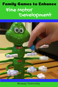 Family Games to Enhance Fine Motor Development