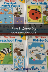 Fun & Learning with Gakken Workbooks