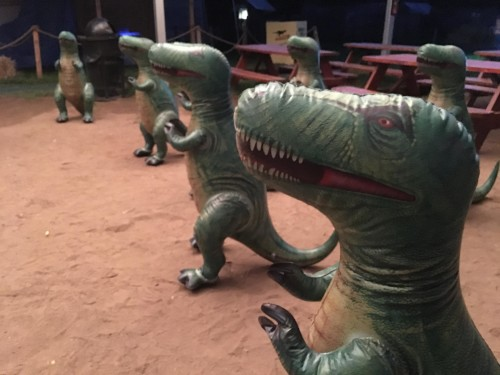 Dinosaurs after Dark