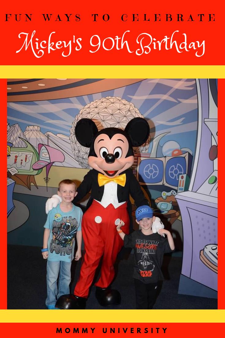 Fun Ways to Celebrate Mickey's Birthday-3