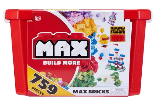 Max Build More Bricks