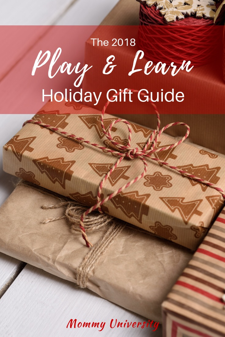 2018 Play and Learn Holiday Gift Guide