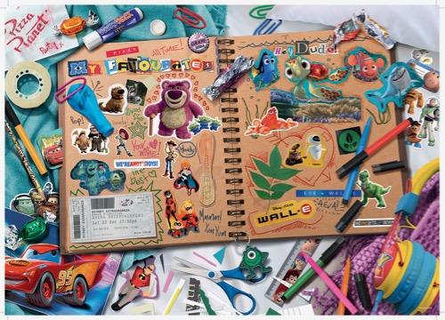 Disney Scrapbook puzzle
