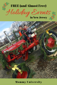 FREE Holiday Events in NJ