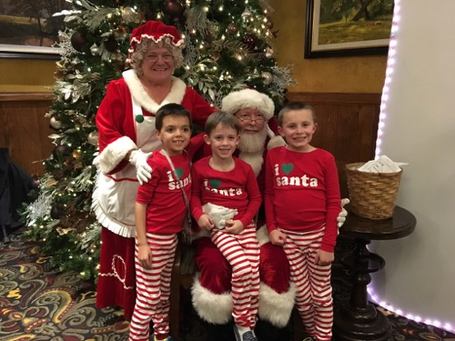 Santa at Hershey Lodge