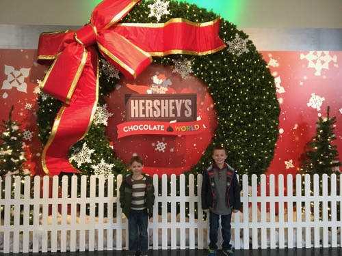 Christmas at Hershey's Chocolate World