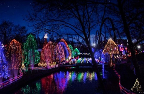 Hersheypark Light Show