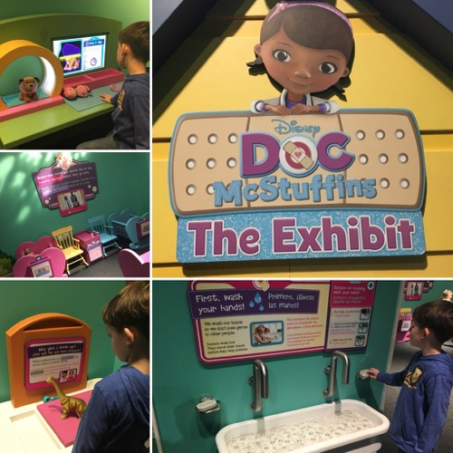 Doc McStuffins Exhibit at LSC