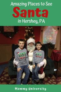 Amazing Places to See Santa in Hershey, PA