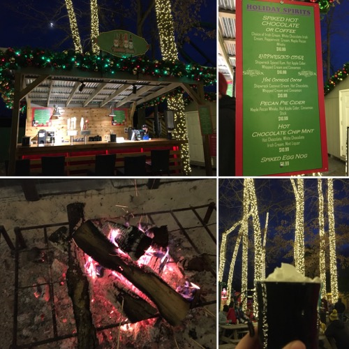 Drink by the Fire at Holiday in the Park