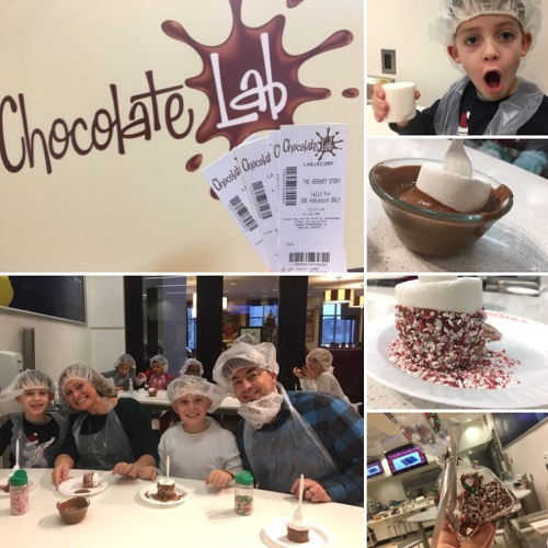 Chocolate Lab Class at Hershey Story