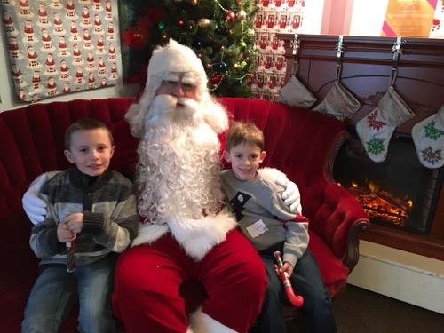Santa at Hersheypark