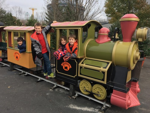 Holiday in the Park Train