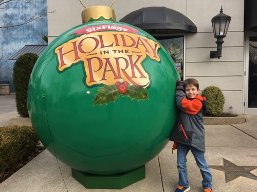 Holiday in the Park Ornament