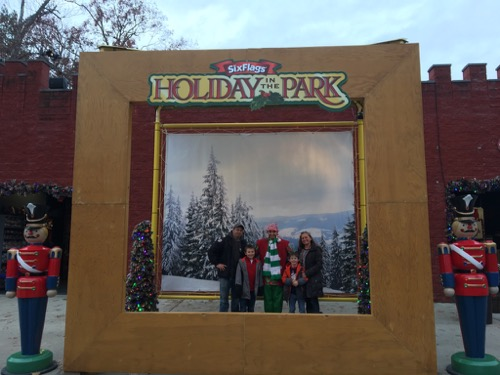 Family Photo at Holiday in the Park