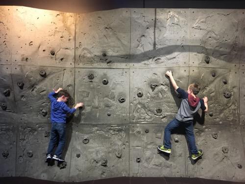 Climbing Wall at LSC