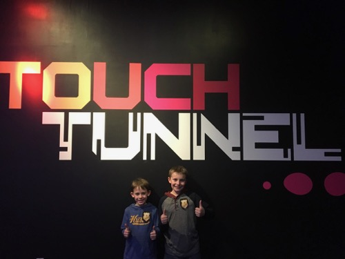 Touch Tunnel at LSC