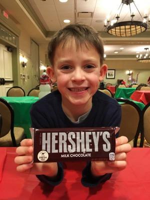 Chocolate bar at hershey lodge