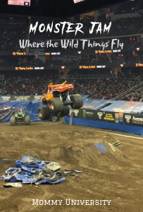 Monster Jam Where Wild Things Fly