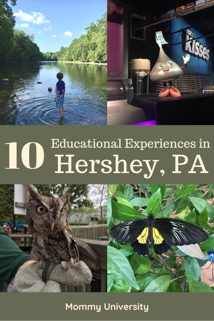 10 Educational Experiences in Hershey, PA