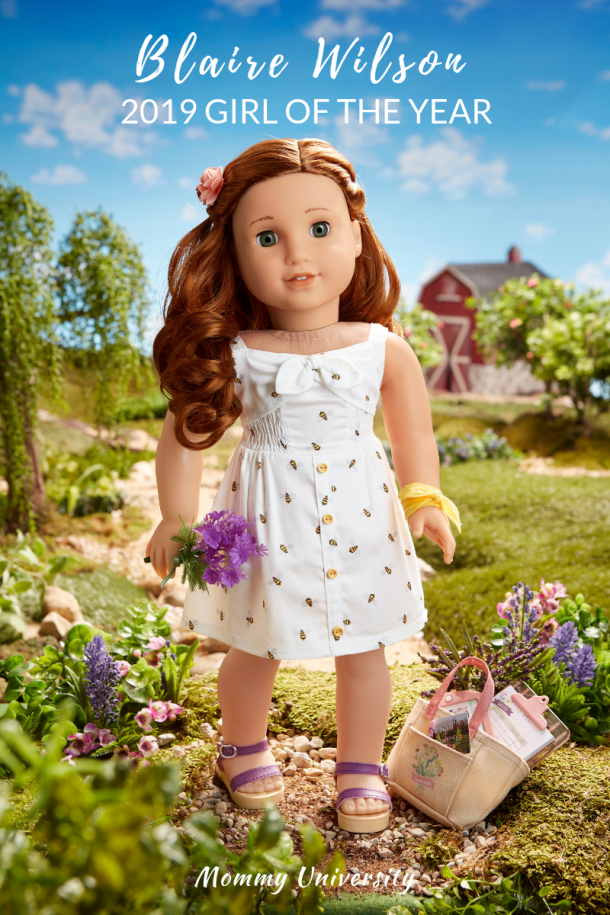 American Girl _ Girl of the Year 2019 Blaire Wilson