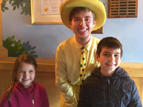 The Growing Stage Presents Curious George