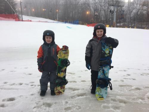 Snowboard at Mountain Creek