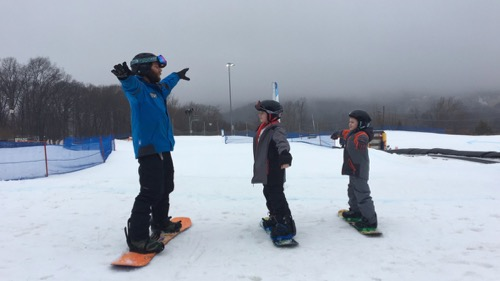 Learning to Snowboard at Mountain Creek