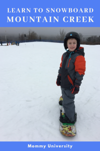 Learn to Snowboard at Mountain Creek