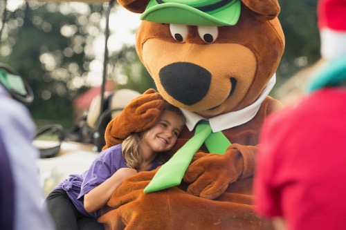 Yogi Bear at Camp-Resort