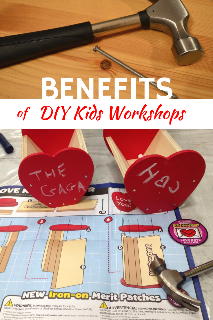 Benefits of DIY Kids Workshops