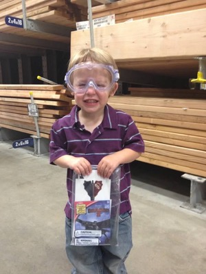 Lowe's Kids DIY Workshop