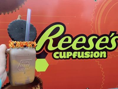 Reese's Cupfusion Milkshake at Hersheypark