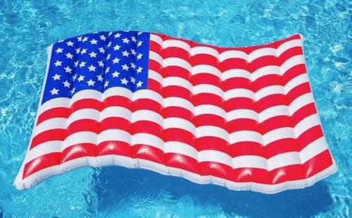 BigMouth Inc. American Flag Float