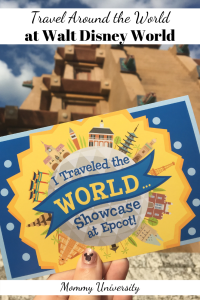 Travel Around the World at Walt Disney World