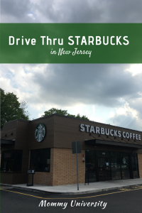 Drive Thru Starbucks in New Jersey