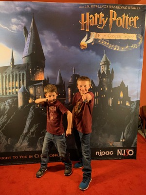 Harry Potter Photo Booth at NJPAC