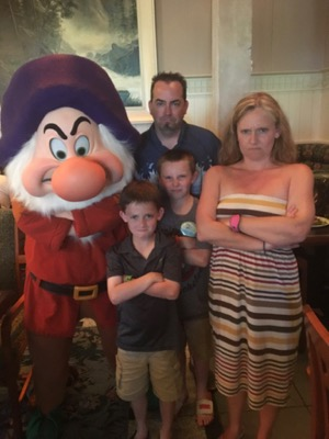 Grumpy at Story Book Dining