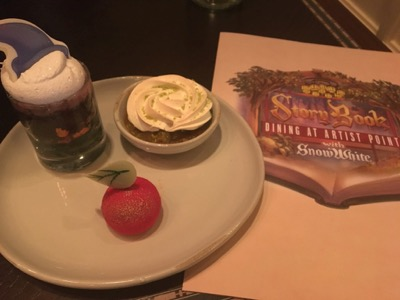 Dessert at Story Book Dining