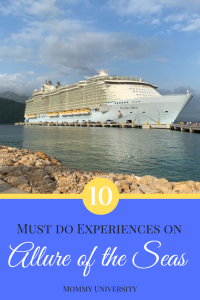 10 Must Do Experiences on Allure of the Seas