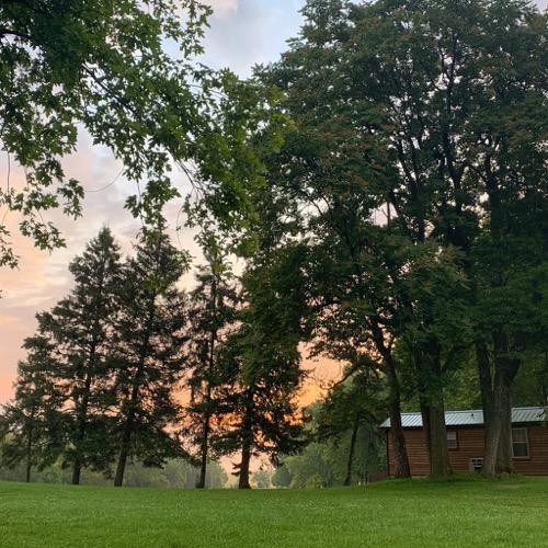 Sunrise at Hersheypark Camping Resort