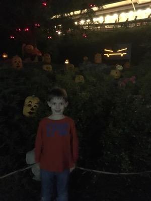 Jack o Lanterns at Hersheypark