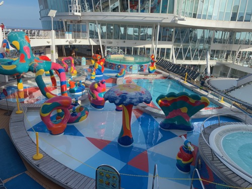 H2O Zone on Allure of the Seas
