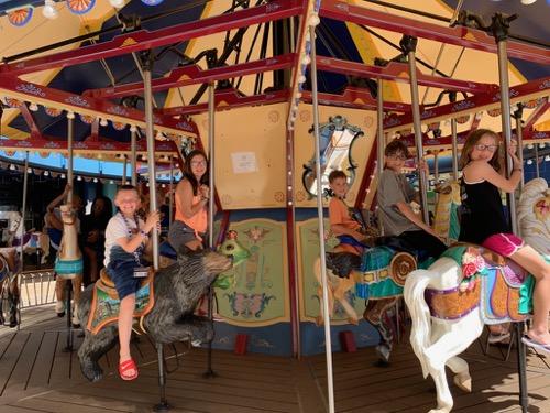 Carousel on Allure of the Seas