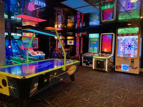 Arcade on Allure of the Seas