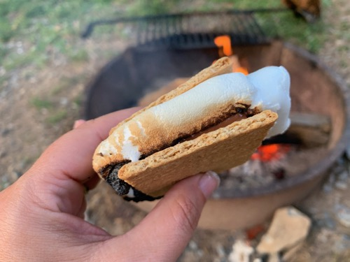 s'mores at Hershey