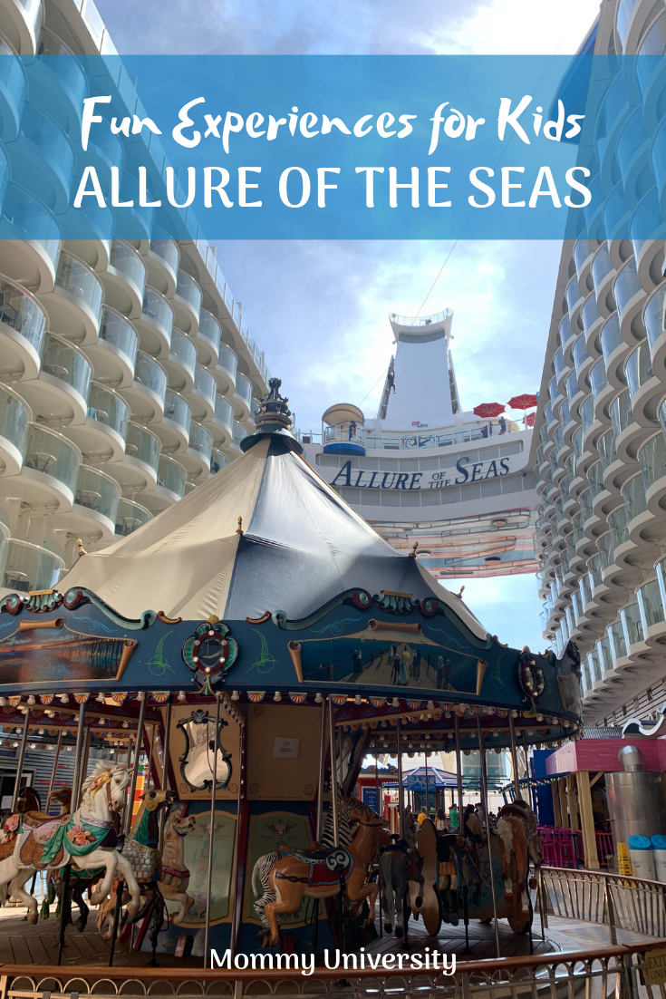 Must Do Experiences for Kids on Allure of the Seas